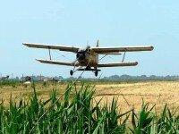 Авіа розсів сипучих мінеральних добрив вертольотом і літаком